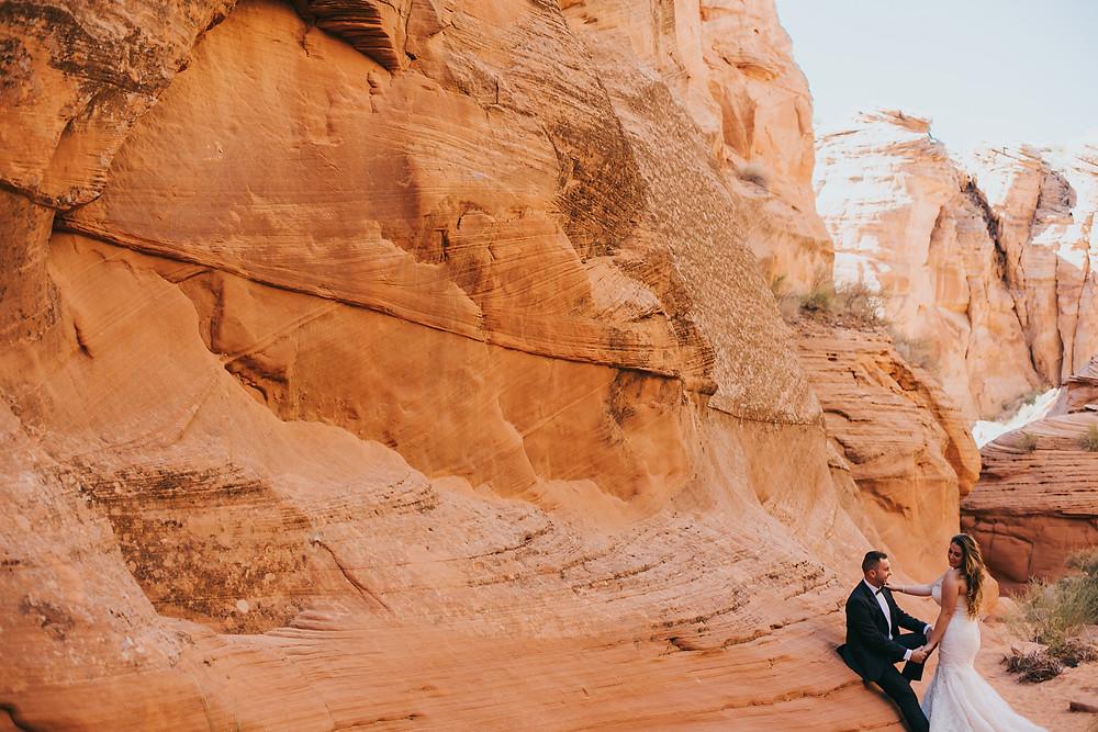 canyon x wedding