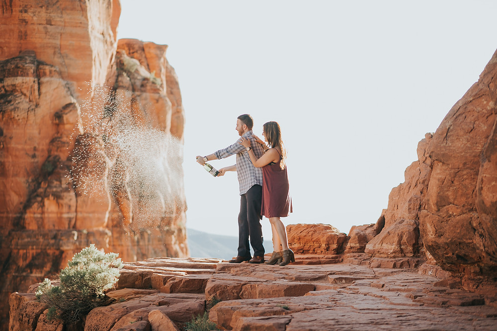cathedral rock engagement