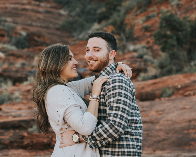 Jessica + Harrison's Engagement // Cathedral Rock, Sedona
