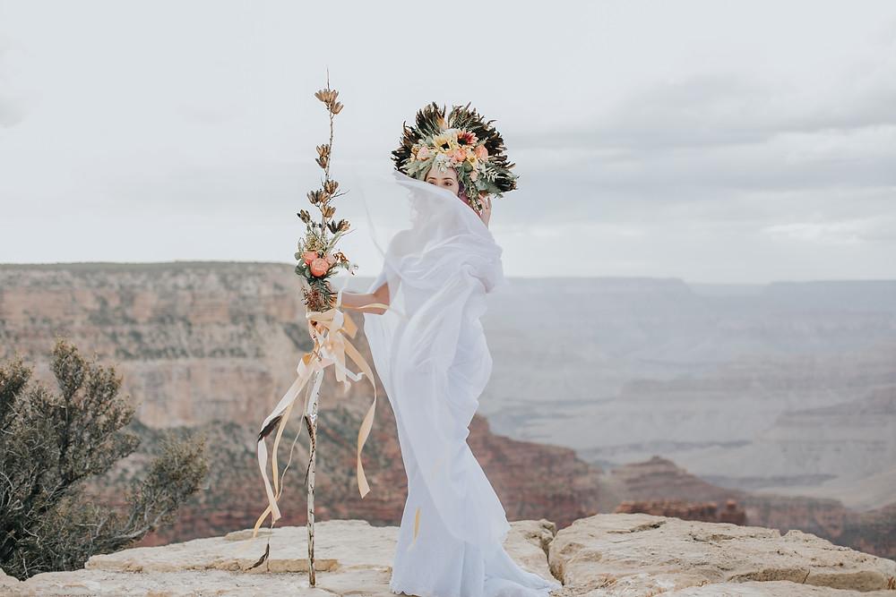 grand canyon bride