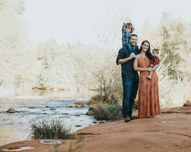 Schwalm Family Portraits // Red Rock Crossing Sedona, AZ