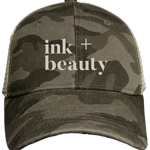ink + beauty HAT