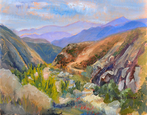 Whitewater Canyon Print on Paper