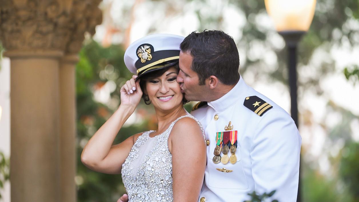 Best military wedding in San Diego