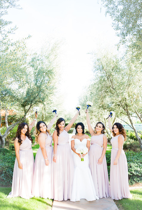 Bridal photography at Toscana Country Club