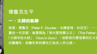 Biography of Peter F. Drucker