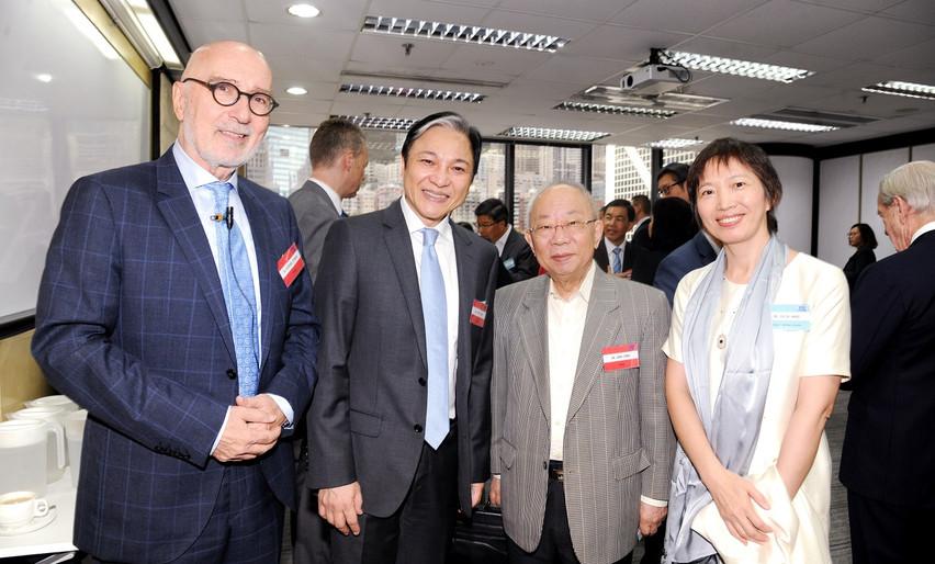 Dr. Richard Straub, Dr. Royce yuen, Dr. John Chan, Dr. Julia Wang .JPG