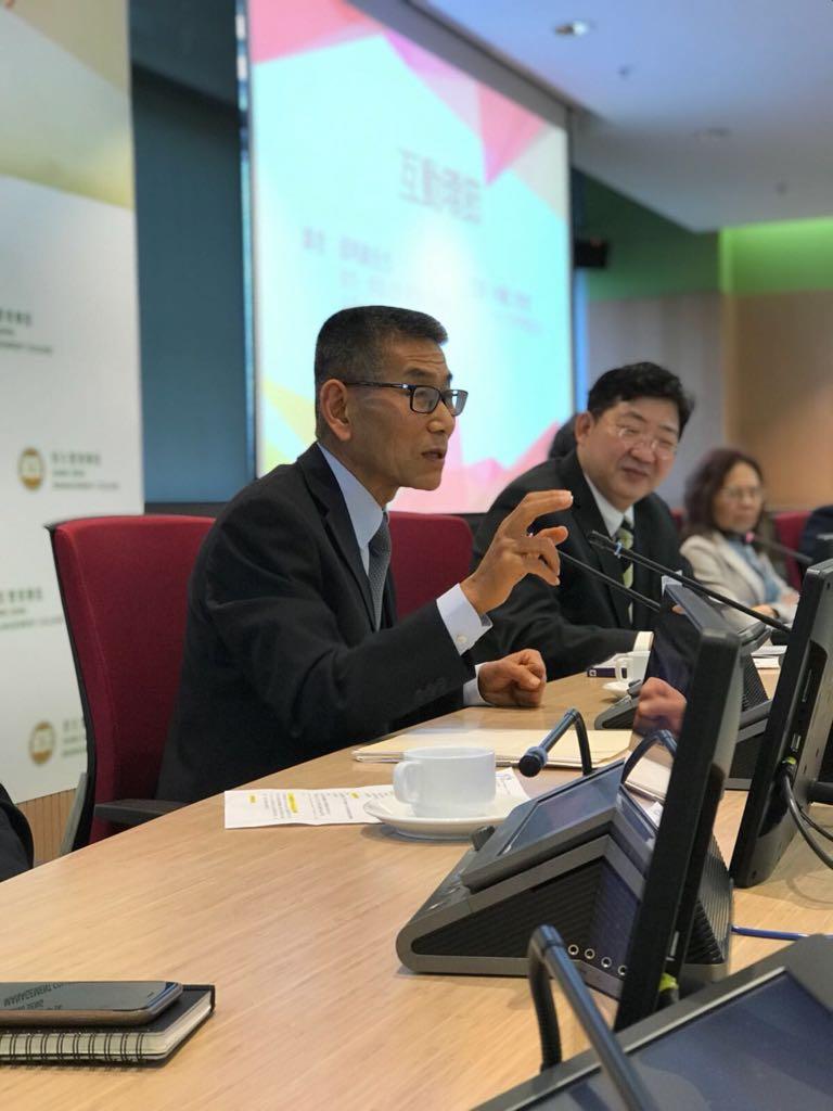 「博雅管理: 一個健全運作的社會」 座談會