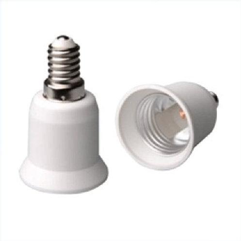 ADATTATORE PER LAMPADE E14/E27
