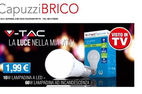 LAMPADINA LED 10W =60W