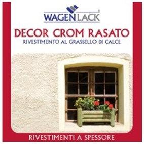 GRASSELLO DI CALCE- DECOR CROM RASATO