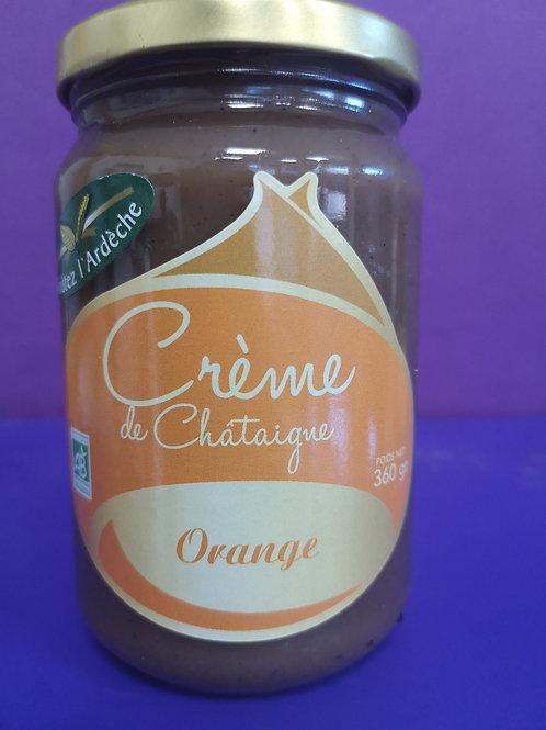 Crème de châtaigne orange 360 gr