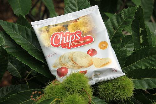 Chips à la Châtaigne BIO 30 gr