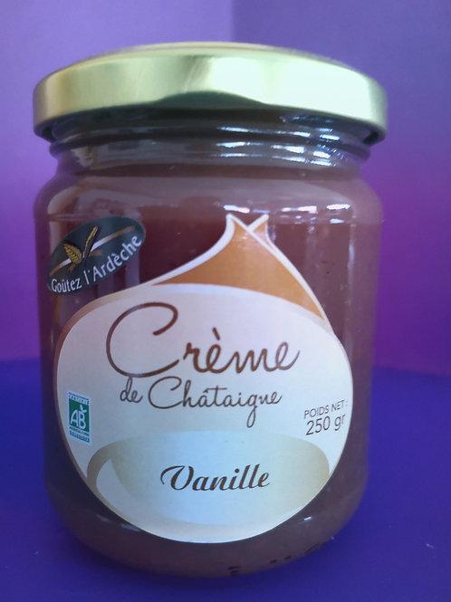 Créme de châtaigne à la vanille 250gr