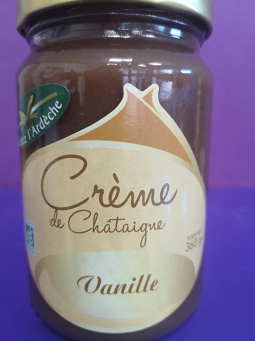 Crème de châtaigne vanille 360 gr