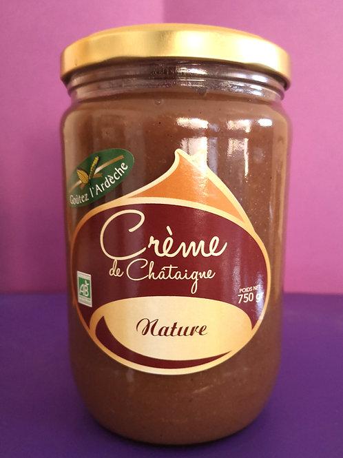 Crème de châtaigne nature 750gr