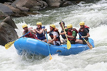 whie water rafting trips