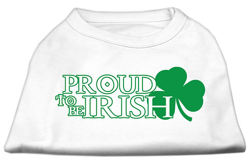 St. Patrick's Day T shirt- Proud to be Irish