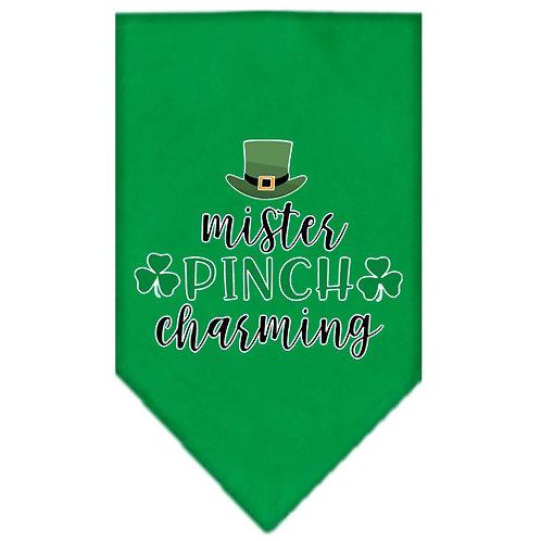 St. Patrick Day Bandana- Mr. Pinch Charming