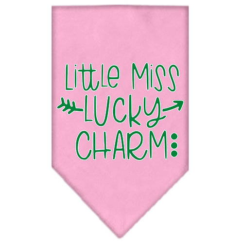 St Patrick Bandana- Little Miss Lucky Charm