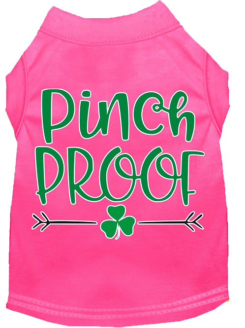 St. Patrick's Day T shirt- Pinch Proof