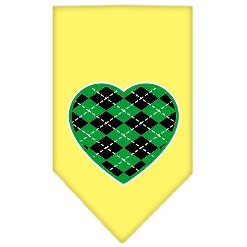 St. Patrick Bandana- Green Heart