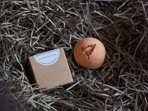 Vegan Bath Bomb - Orange & Cinnamon
