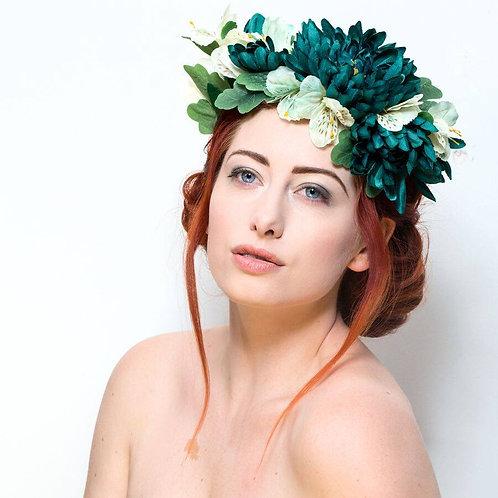 BESPOKE SERVICE - Flower Crown - Wedding, Prom