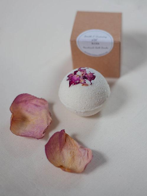 Vegan Bath Bomb - Rose