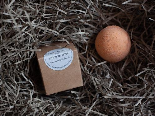 Vegan Bath Bomb - Pumpkin Spice