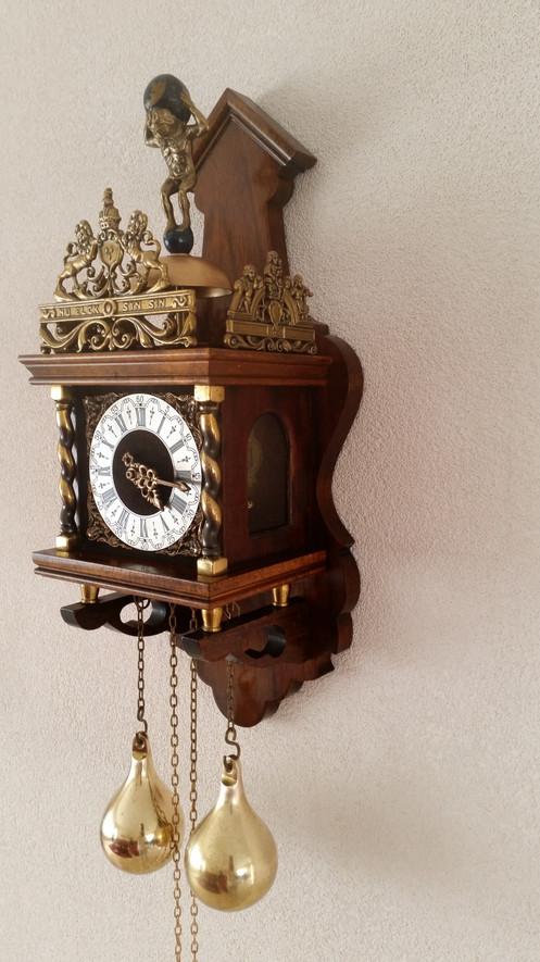 Original Wuba Quot Zaanse Wall Clock Quot