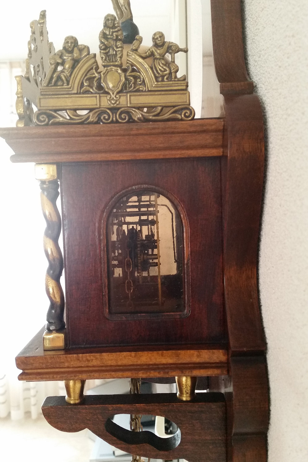 Original Wuba Quot Zaanse Wall Clock Quot Exclusive Gifts