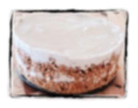 עוגת גבינה וגזר טבעונית