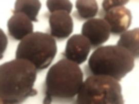 כדורי פאדג' שוקולד