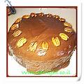 עוגת תפוז טבעונית
