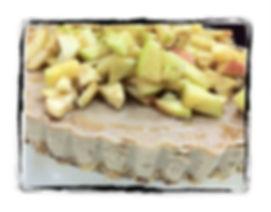 עוגת תפוחים קרמלית ללא גלוטן