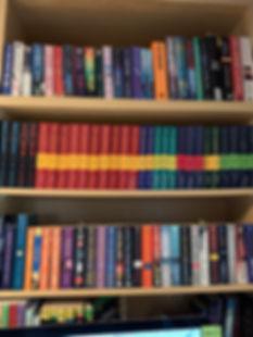 Toni's bookshelves