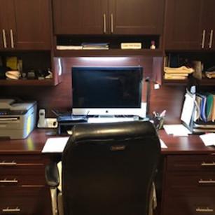 Kristy's desk