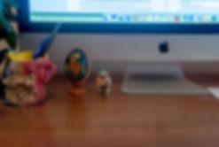 Nina Lane's desk