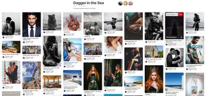 Cat Porter's Dagger in the Sea