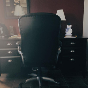 Mari's real desk!