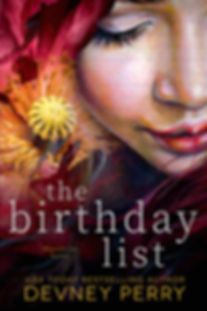 The Birthday List - Cover
