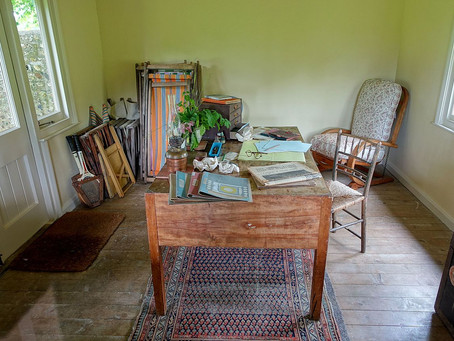Where They Wrote - Virginia Woolf