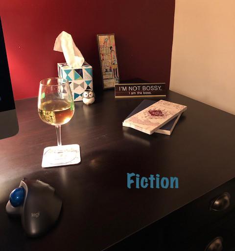 Mari's desk