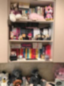 Carly's bookshelf