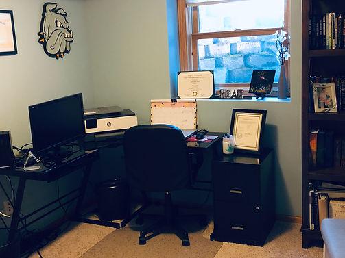 AM Brooks' office