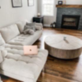 Devney's living room
