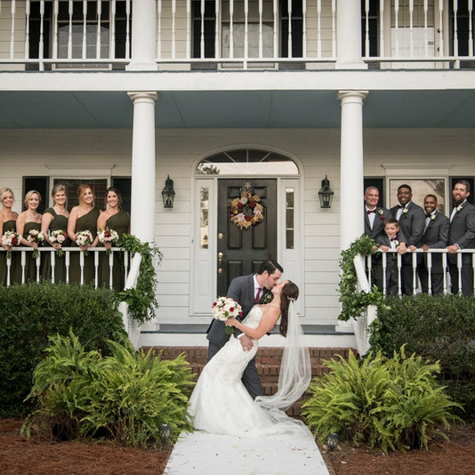 Wedding Party in Front of House Dip.jpg