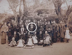 Itai Masumi with Members of the Oishi Fa