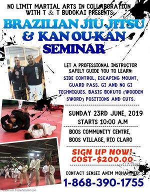 Kan ou-kan and BJJ Seminar